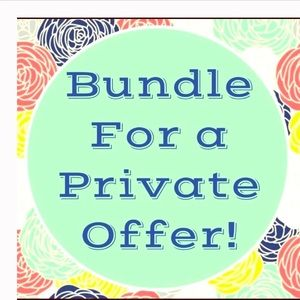 Bundle for private offer